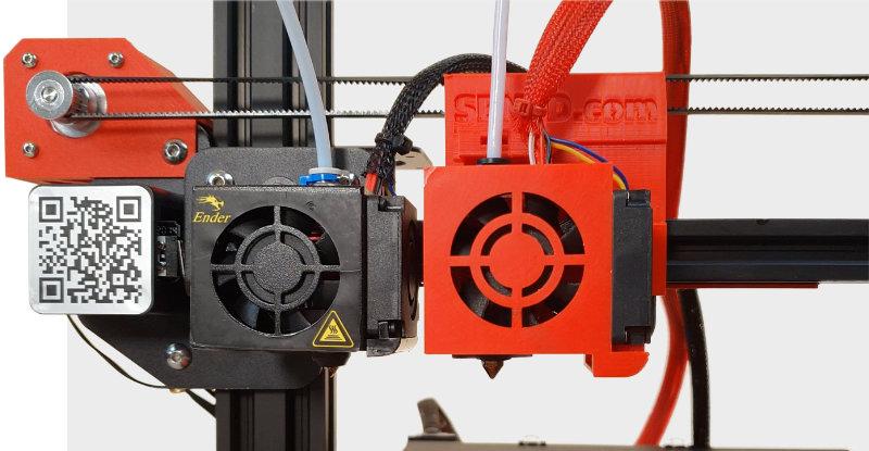 Ender IDEX Print Carriages by SEN 3D